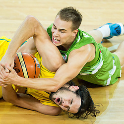 20150804: SLO, Basketball - Friendly match, Slovenia vs Australia