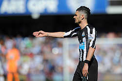 Newcastle United's Remy Cabella cuts a dejected figure - Photo mandatory by-line: Dougie Allward/JMP - Mobile: 07966 386802 - 16/05/2015 - SPORT - football - London - Loftus Road - QPR v Newcastle United - Barclays Premier League