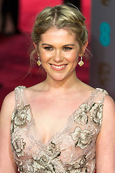 © Licensed to London News Pictures. 14/02/2016. London, UK. GUEST arrives on the red carpet at the EE British Academy Film Awards 2016 Photo credit: Ray Tang/LNP