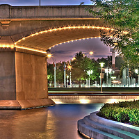 The Clinch Street Viaduct over World's Fair Park in Knoxville, Tennessee.