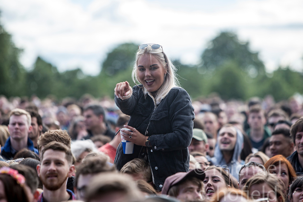 London Grammar on the main stage, Friday at TRNSMT music festival, Glasgow Green.