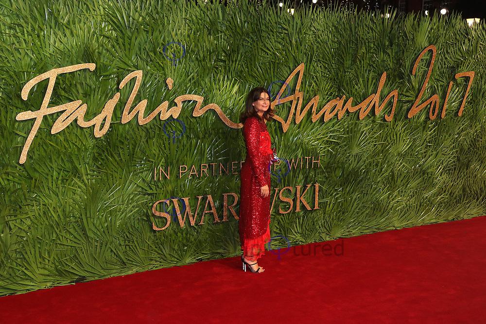 Natalie Massenet, The Fashion Awards 2017, The Royal Albert Hall, London UK, 04 December 2017, Photo by Richard Goldschmidt