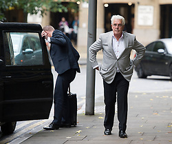 © London News Pictures. 04/10/2013. London, UK.  Publicist Max Clifford arriving at Southwark Crown Court in London where he is charged with 11 indecent assaults allegedly committed between 1966 and 1985. Photo credit: Ben Cawthra/LNP