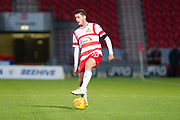 Doncaster Rovers Defender Tyler Garrett (20) during the EFL Sky Bet League 1 match between Doncaster Rovers and Bristol Rovers at the Keepmoat Stadium, Doncaster, England on 27 January 2018. Photo by Craig Zadoroznyj.