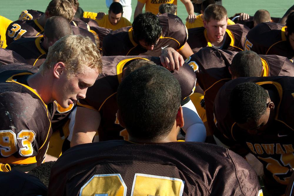 2010 October 09: Rowan University Football defeats. Kean University 21 - 17.
