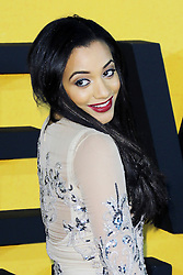 © Licensed to London News Pictures. 09/01/2014, UK. Amal Fashanu, The Wolf of Wall Street - UK film premiere, Odeon Leicester Square, London UK, 09 January 2014. Photo credit : Richard Goldschmidt/Piqtured/LNP