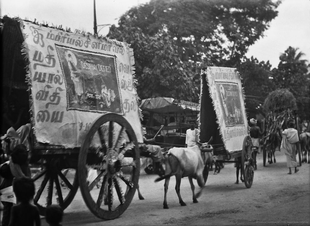 Cinema Advertisement, Madurai, India, 1929