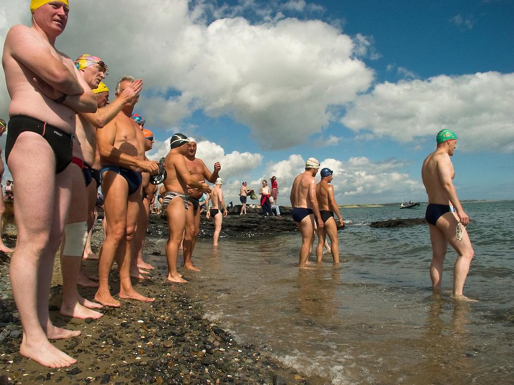 Open Water Swim, Malahide, Co. Dublin, August 2004.