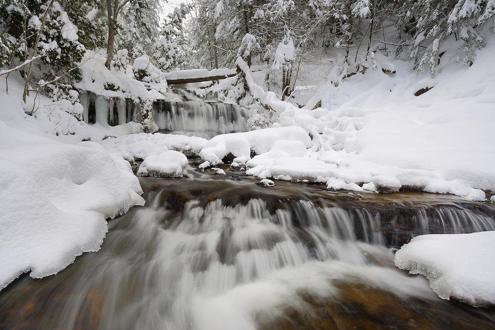 Wagner Falls <br /> Munising, Michigan
