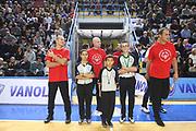 DESCRIZIONE : Cremona Lega A 2014-2015 Vanoli Cremona Openjobmetis Varese<br /> GIOCATORE :  Arbitri Referees<br /> SQUADRA : AIAP<br /> EVENTO : Campionato Lega A 2014-2015<br /> GARA : Vanoli Cremona Openjobmetis Varese<br /> DATA : 30/11/2014<br /> CATEGORIA : Arbitri Referees<br /> SPORT : Pallacanestro<br /> AUTORE : Agenzia Ciamillo-Castoria/F.Zovadelli<br /> GALLERIA : Lega Basket A 2014-2015<br /> FOTONOTIZIA : Cremona Campionato Italiano Lega A 2014-15 Vanoli Cremona Openjobmetis Varese<br /> PREDEFINITA : <br /> F Zovadelli/Ciamillo