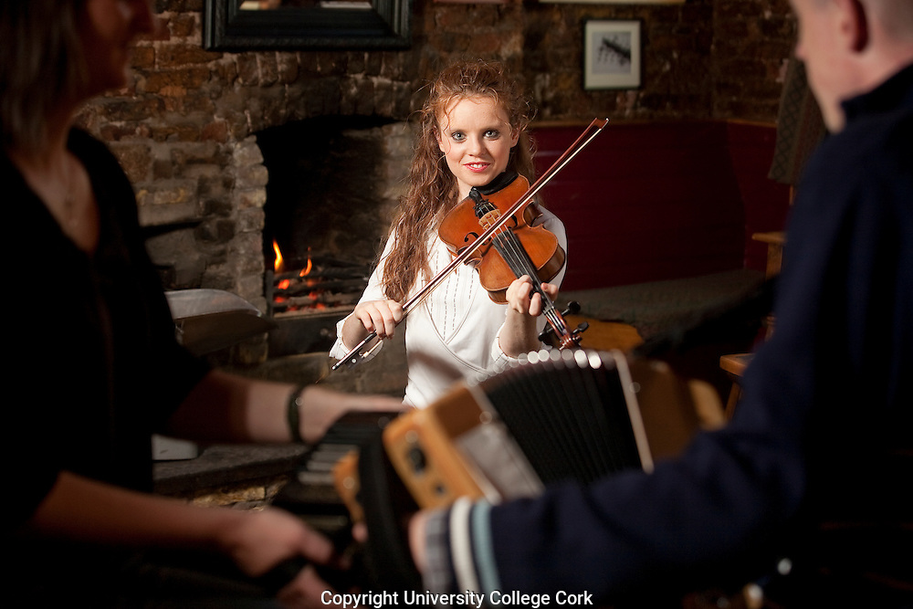 Maggie McCarthy  in The Cornerhouse, Cork. Photograph by Tomas Tyner,UCC.