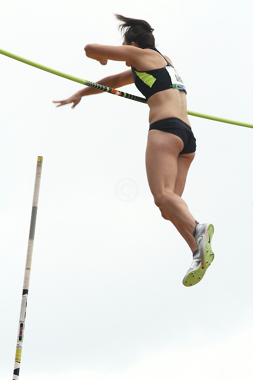 women's Pole Vault, Melissa Gergel
