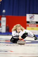 Jennifer Jones.The 2011 GP Car and Home Players' Championship ran April 12-17 at the Crystal Centre, Grande Prairie, AB..11-04-13, Photo Randy Vanderveen, Grande Prairie, Alberta.