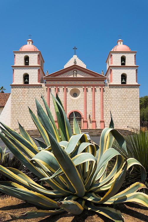 Old Mission Santa Barbara; Santa Barbara, California.