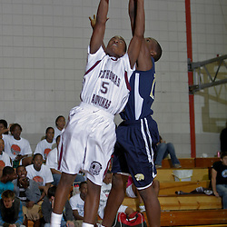 23 November 2009:  High school basketball action from the Veritas Tournament in Hammond, LA.