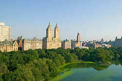 Central Park West view from Hot Air Balloon