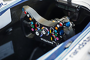 November 21-23, 2014 : Abu Dhabi Grand Prix, Williams F1 Steering Wheel