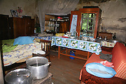 Armenia, Tavush Province, Gosh a local village Interior of a home
