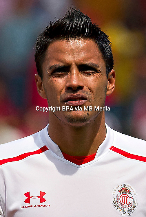 Mexico League 2013-2014 - First Division / <br /> Deportivo Toluca FC  / Mexico - <br /> Alfredo Talavera