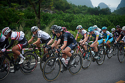 Elisa Longo Borghini (ITA) at GREE Tour of Guangxi Women's World Tour 2018, a 145.8 km road race in Guilin, China on October 21, 2018. Photo by Sean Robinson/velofocus.com