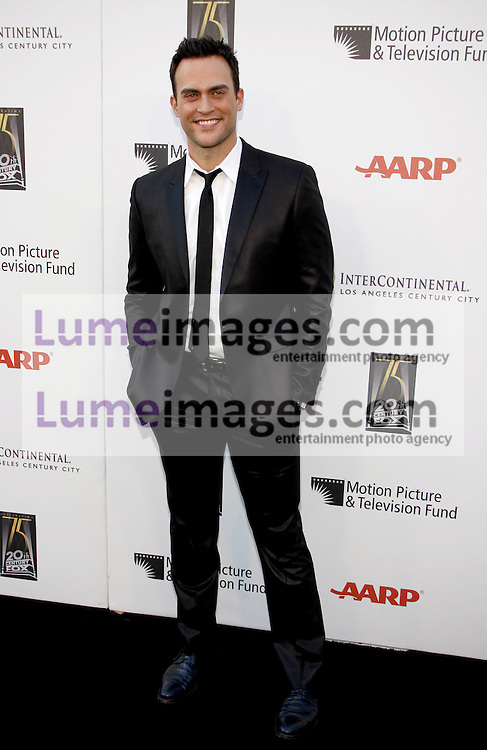 CENTURY CITY, CA - MAY 01, 2010: Cheyenne Jackson at the 5th Annual 'A Fine Romance' Benefit held at the Fox Studio Lot in Century City, USA on May 1, 2010.