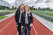 2018, September 12. Sportclub Only Friends, Amsterdam. Persdag team Only Friends in NYC. Op de foto: Robert Leroy en Jamie de Boer