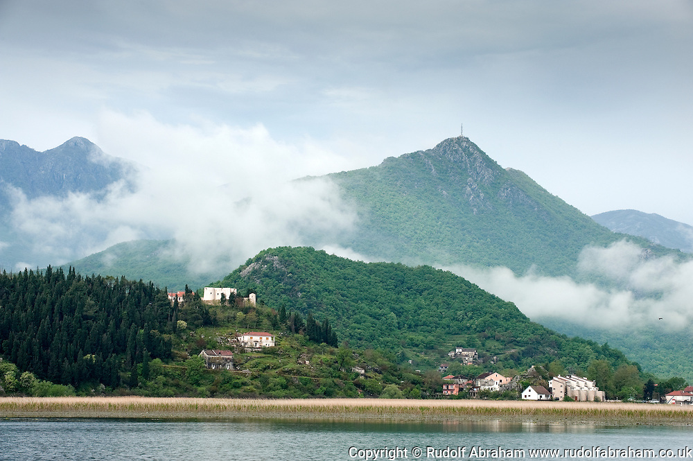 The small town of Virpazar and Skadarsko jezero (Skadar Lake) national park, Montenegro