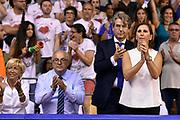 DESCRIZIONE : Campionato 2014/15 Serie A Beko Grissin Bon Reggio Emilia - Dinamo Banco di Sardegna Sassari Finale Playoff Gara7 Scudetto<br /> GIOCATORE : <br /> CATEGORIA : vip<br /> SQUADRA : Banco di Sardegna Sassari<br /> EVENTO : Campionato Lega A 2014-2015<br /> GARA : Grissin Bon Reggio Emilia - Dinamo Banco di Sardegna Sassari Finale Playoff Gara7 Scudetto<br /> DATA : 26/06/2015<br /> SPORT : Pallacanestro<br /> AUTORE : Agenzia Ciamillo-Castoria/GiulioCiamillo<br /> GALLERIA : Lega Basket A 2014-2015<br /> FOTONOTIZIA : Grissin Bon Reggio Emilia - Dinamo Banco di Sardegna Sassari Finale Playoff Gara7 Scudetto<br /> PREDEFINITA :