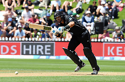 New Zealand's Ross Taylor batting against Pakistan in the fifth one day International Cricket match, Basin Reserve, Wellington, New Zealand, Friday, January 19, 2018