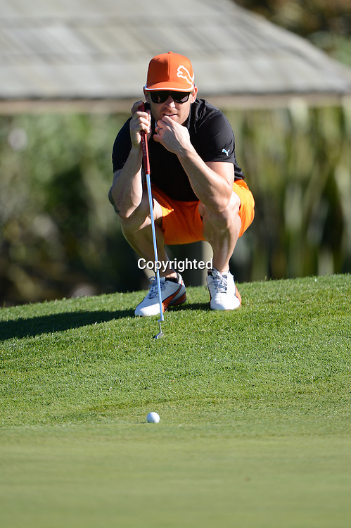 Brendon McCullum at the New Zealand Cricket Players Association Golf Day held at the Grange Golf Club, Papatoetoe. 1 June 2012.<br /> Photo: Andrew Cornaga / Photosport.co.nz