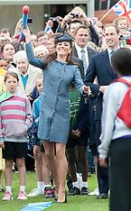 Duke and Duchess of Cambridge in Nottingham 13-6-12