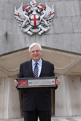 © licensed to London News Pictures. LONDON, UK  13/06/2011. John Simpson (pictured), the BBC's World Affairs Editor, receives the Freedom of the City of London at the Guildhall today (Monday) for services to Broadcasting. Please see special instructions for usage rates. Photo credit should read CLIFF HIDE/LNP