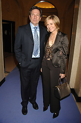 Actor MICHAEL BRANDON his wife actress GLYNIS BARBER at the 10th Anniversary Party of the Lavender Trust, Breast Cancer charity held at Claridge's, Brook Street, London on 1st May 2008.<br />