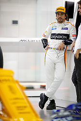 September 13, 2018 - Singapore, Singapore - Motorsports: FIA Formula One World Championship 2018, Grand Prix of Singapore, .#14 Fernando Alonso (ESP, McLaren F1 Team) (Credit Image: © Hoch Zwei via ZUMA Wire)