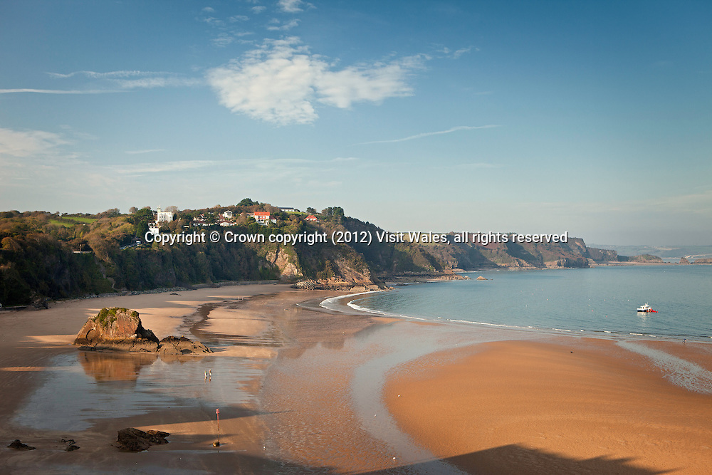 North Beach<br /> Tenby<br /> Pembrokeshire<br /> South<br /> Towns and Villages