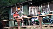 Reading, Kokee Cabins, Waimea Canyon, Kauai, Hawaii