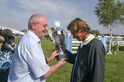 Buchmann Jacky<br /> CSIO Lummen 2003<br /> Photo © Hippo Foto
