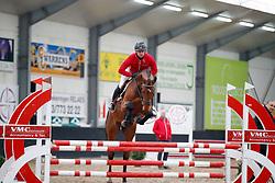 038, Philemon van T&L, Vernaet Frederic, BEL<br /> BWP hengstenkeuring - Meerdonk 2018<br /> © Hippo Foto - Dirk Caremans<br /> 17/03/2018