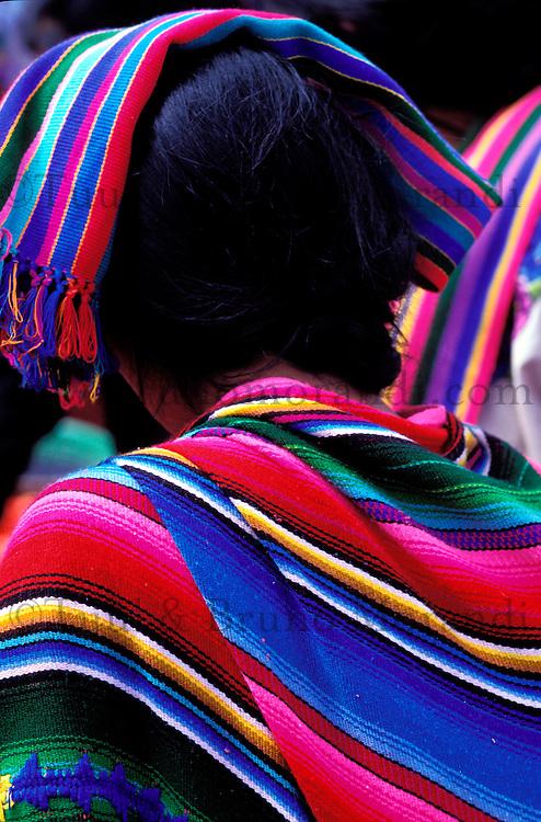 Guatemala, Lac Atitlan, Santa Clara la Laguna, Marché du Mardi // Guatemala, Lake Atitlan, Santa Clara la Laguna, Market of Tuesday