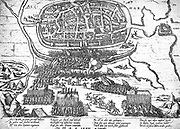 21 August - 8 October 1573. Failed siege of Alkmaar by Don Frederick of Toledo.  21st August. The construction of trenches, the erection of the bulwarks and the landing of the guns was not  until 18 September when the breach started shooting and the first rush took place.