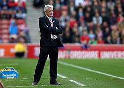 Stoke City manager Mark Hughes - Mandatory by-line: Robbie Stephenson/JMP - 15/10/2016 - FOOTBALL - Bet365 Stadium - Stoke-on-Trent, England - Stoke City v Sunderland - Premier League