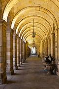 Town hall architecture, Santiago de Compostela, Galicia, Spain, 2017-10-09.