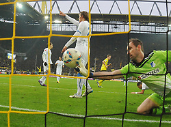 "28.01.2012, Signal Iduna Park, Dortmund, GER, 1. FBL, Borussia Dortmund vs 1899 Hoffenheim, 19. Spieltag, im Bild Tom Starke (Hoffenheim #33) // during the football match of the german ""Bundesliga"", 19th round, between GER, 1. FBL, Borussia Dortmund and 1899 Hoffenheim, at the Signal Iduna Park, Dortmund, Germany on 2012/01/28. EXPA Pictures © 2012, PhotoCredit: EXPA/ Eibner/ Ulrich Roth..***** ATTENTION - OUT OF GER *****"