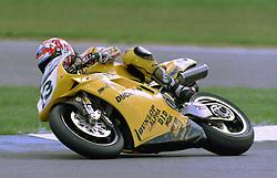 Jamie Robinson, GSE Ducati, World Superikes, Donington Park, 1998