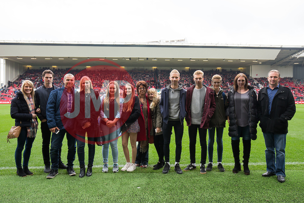 Family of Gerry Gow - Rogan Thomson/JMP - 22/10/2016 - FOOTBALL - Ashton Gate Stadium - Bristol, England - Bristol City v Blackburn Rovers - Sky Bet EFL Championship.