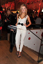 KIMBERLY GARNER at One Night Changes Everything - a fundraising evening for the 2013 Comic Relief Campaign held at The Royal Opera House, London on 28th February 2013.
