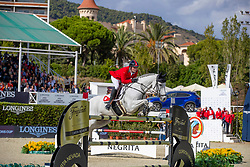 Balsinger Bryan, SUI, Clouzot de Lassus<br /> Longines FEI Jumping Nations Cup™ Final<br /> Barcelona 20128<br /> © Hippo Foto - Dirk Caremans<br /> 07/10/2018