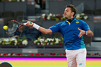 Swiss Stan Wawrinka during Mutua Madrid Open Tennis 2017 at Caja Magica in Madrid, May 10, 2017. Spain.<br /> (ALTERPHOTOS/BorjaB.Hojas)