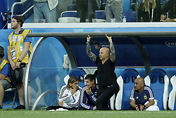 coach  Jorge Sampaoli of Argentina during the 2018 FIFA World Cup Russia group D match between Argentina and Croatia at the Novgorod stadium on June 21, 2018 in Nizhny Novgorod, Russia