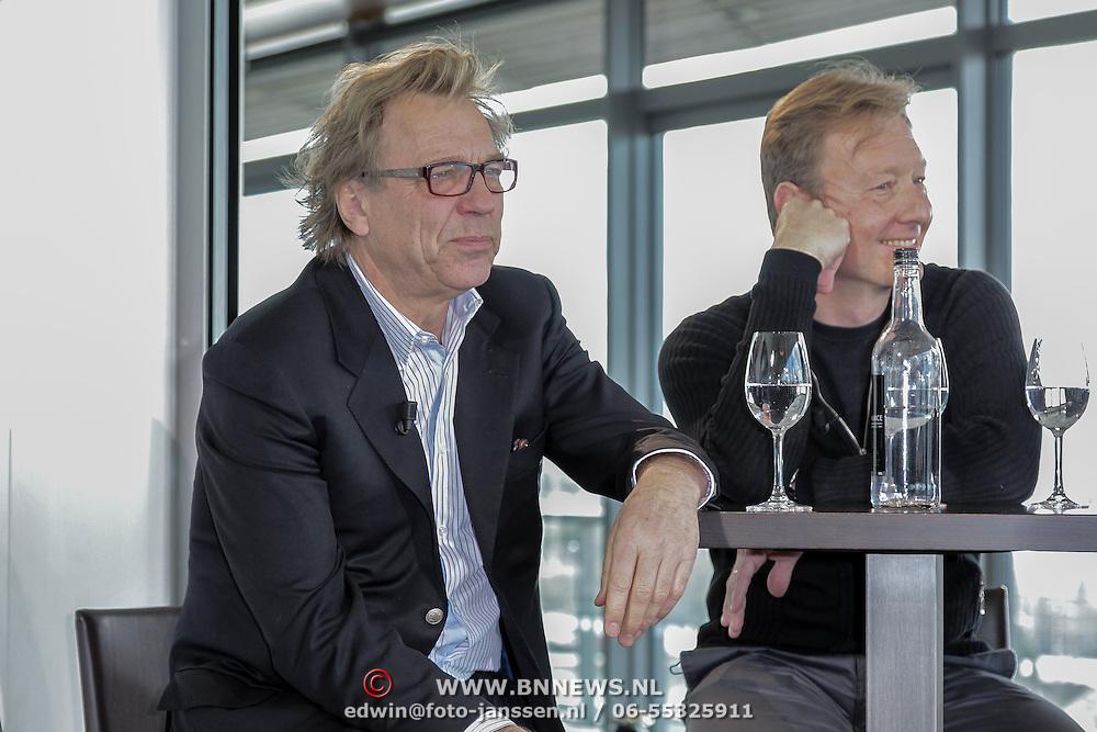NLD/Amsterdam/20120416 - Boekpresentatie Presteren, Jan Mulder en Rick nieman